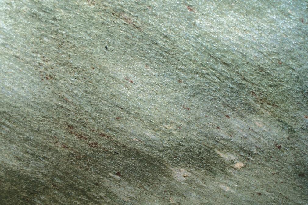 Glitter Green - polished