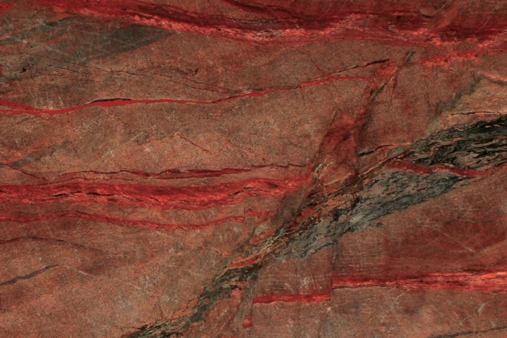Red Fire Granite : Red fire