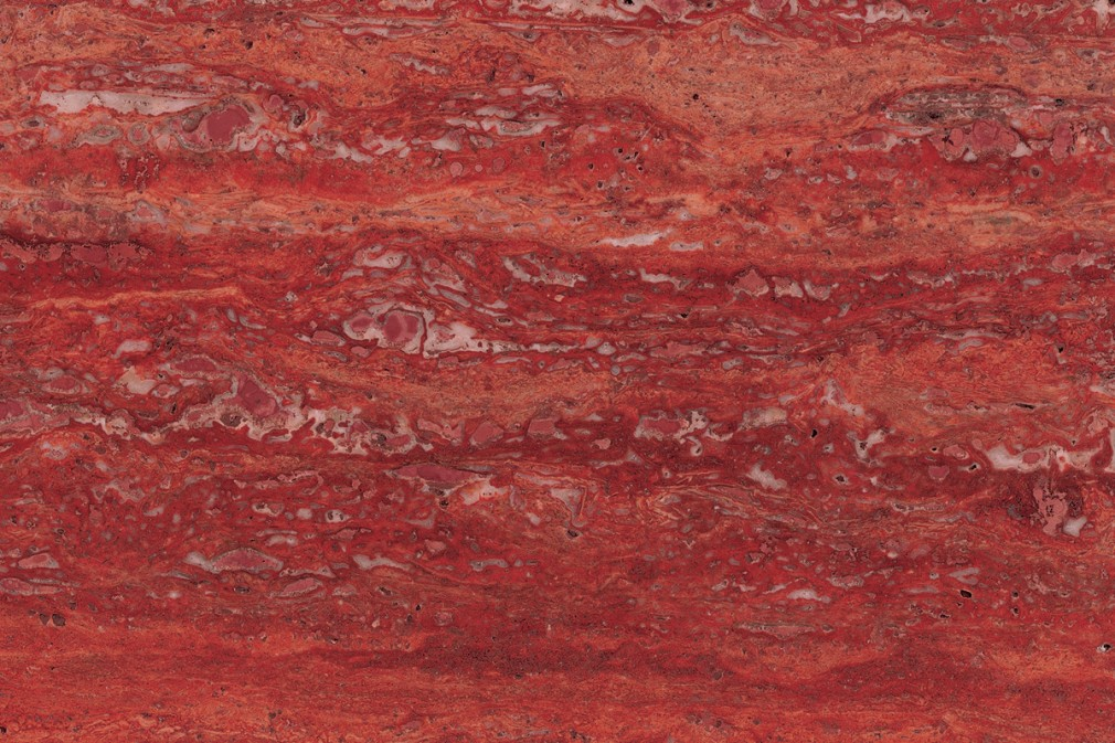 "Travertino Rosso Persiano ""Vein Cut"" (polished)"