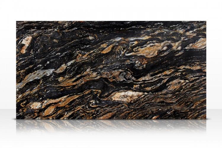 Magma Black Granite : Magma black