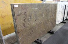 Fossil Brown-Polished Marble