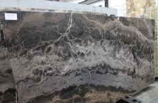 Cappuccino Vien Cut Leathered Marble
