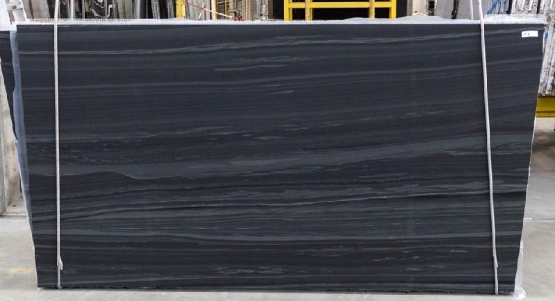 Hematite Black Leathered Marble