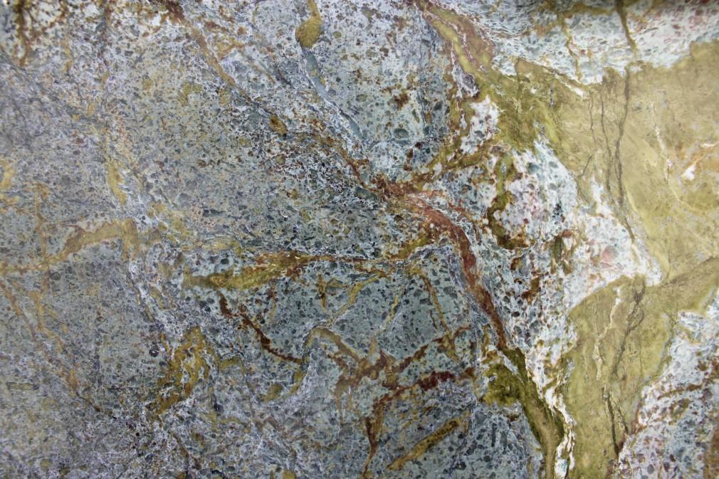 Polished Granite Blocks : Golden lightning polished granite block