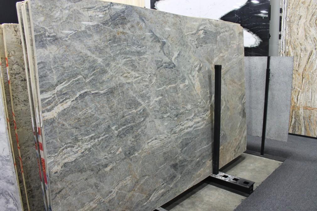 Polished Granite Blocks : Quartzite cielo polished block nfv