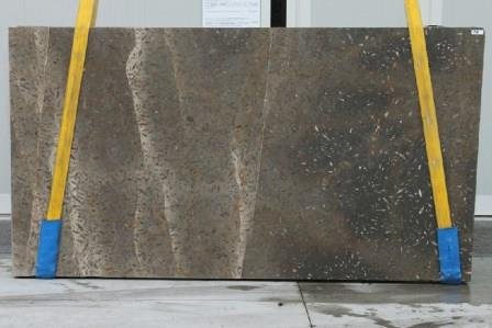 Jurassic Brown Leathered Marble