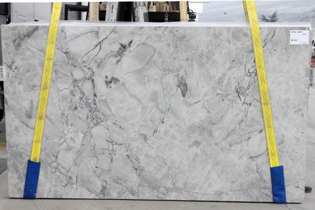 Super White Top Polished Quartzite Block Db292