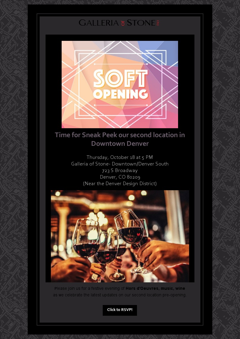 Soft Opening of New Location